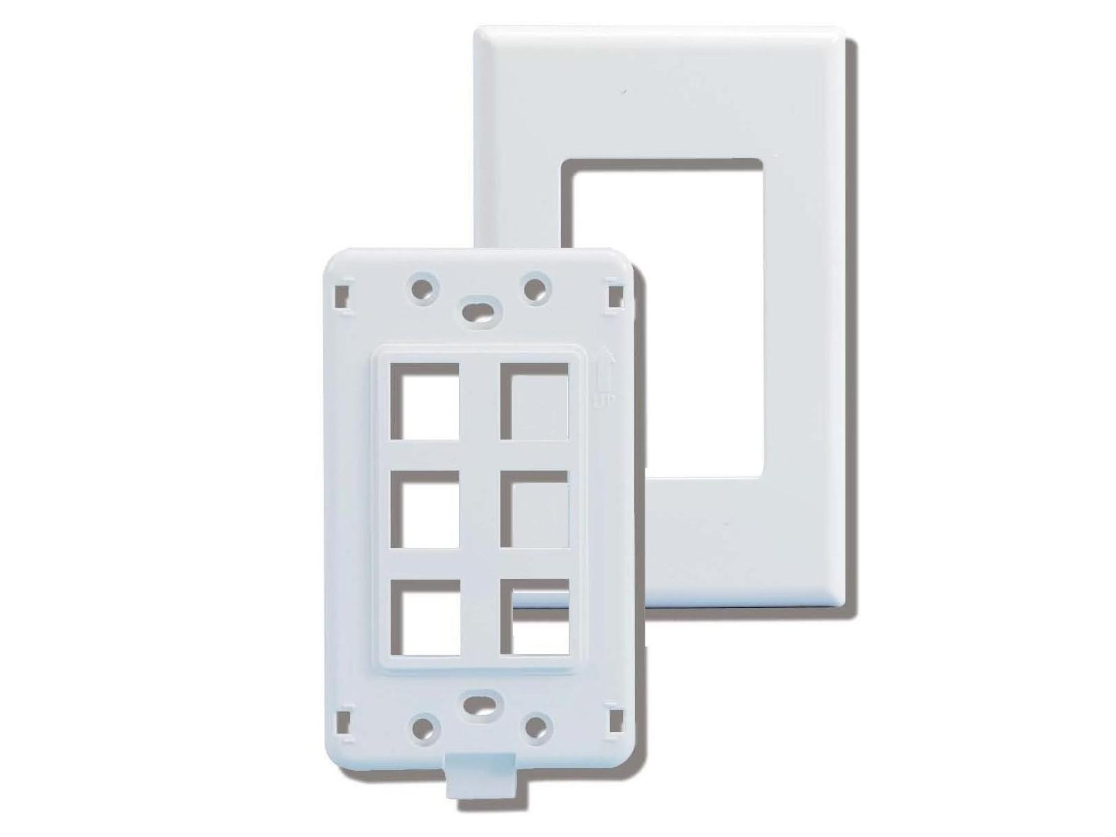 screwless wallplates