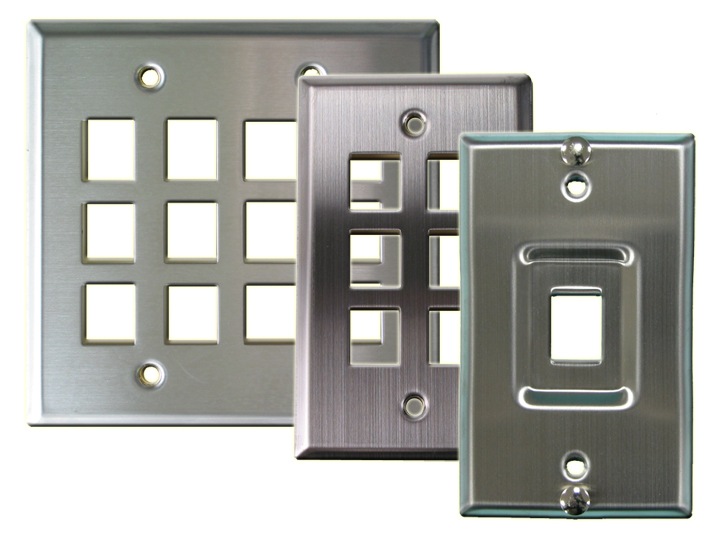 Stainless Steel Wallplates